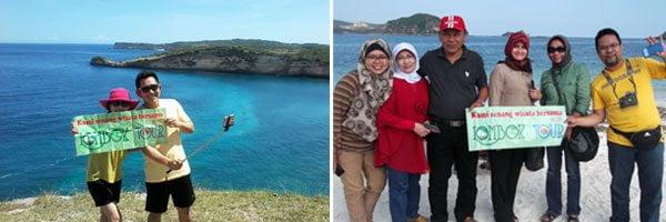 paket wisata lombok murah tanjung ringgit dan pantai pink