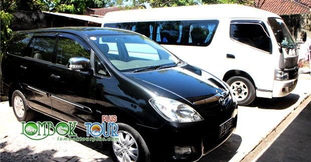 Sewa Mobil di Lombok plus supir