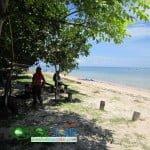keindahan pantai sire di pulau lombok
