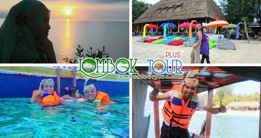 Wisata 3 Gili Lombok 4 hari 3 malam