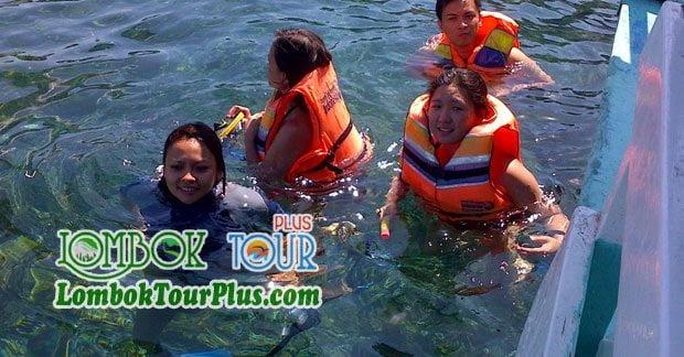 Snorkling di Wisata Lombok