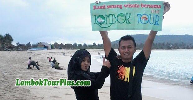 Keceriaan Wisata bapak didin di Lombok