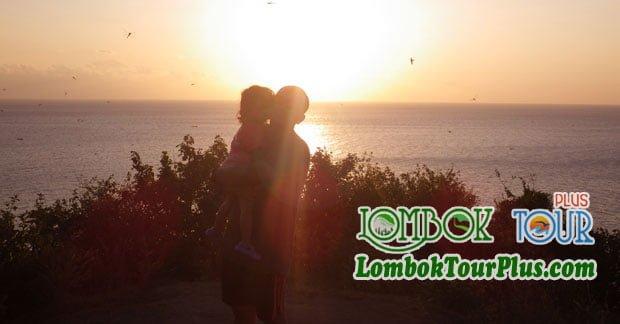 Keindahan Sunset Lombok