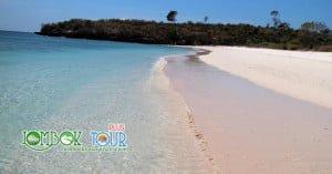 pantai pasir pink di lombok