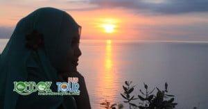 tempat sunset di lombok