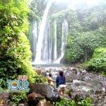 Pesona Air Terjun Lombok Yaitu Tiu Kelep