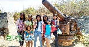 Meriam peninggalan Jepang Tanjung Ringgit Lombok Timur