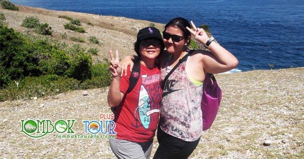 Wisata Tanjung Ringgit ibu Christine