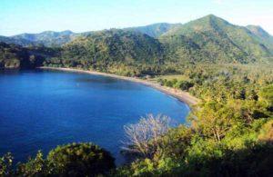 pantai terindah di Lombok pantai malimbu