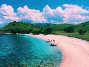 pantai pink lombok ntb