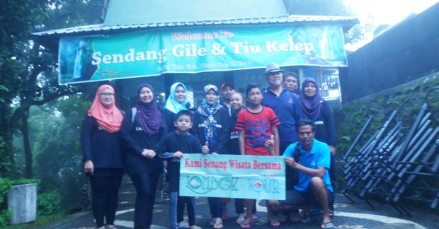 wisata lombok terbaik mengunjungi wisata air terjun Lombok