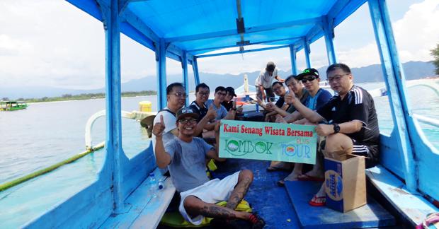 Perjalanan ke Gili Trawangan Lombok