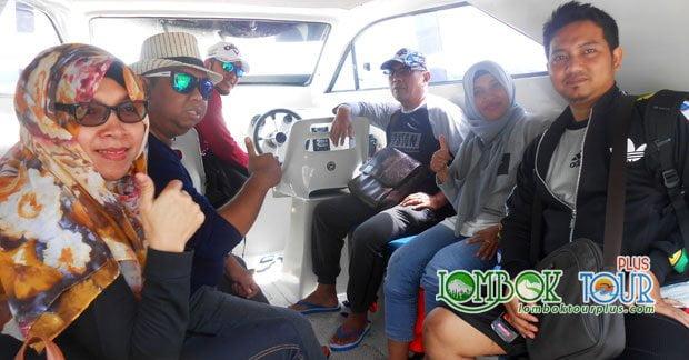 Wisata Ibu Dian dan Sahabat Menuju Gili Trawangan Lombok