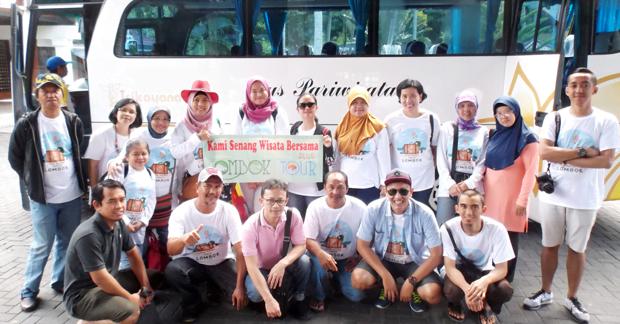 Wisata ibu Ismi dan Sahabat di Lombok