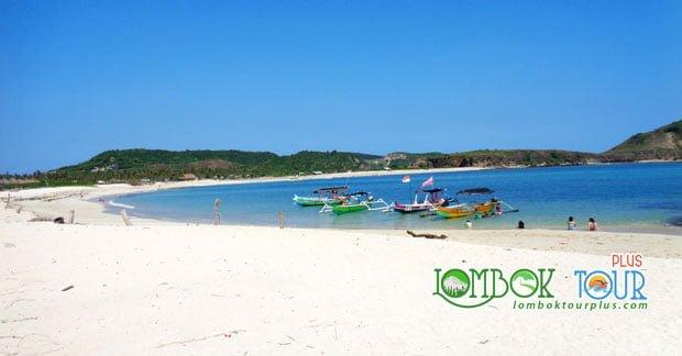 Wisata pantai tanjung aan lombok