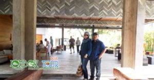 Kedatangan Bapak Mubarak Ahmad dan Istri di Hotel Lombok