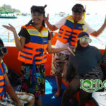 Wisata Bapak Basuqei & Keluarga di Lombok