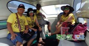 Perjalanan Wisata Ibu Kristin Menuju Gili Trawangan