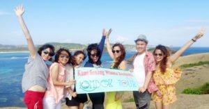 Serunya wisata Ibu Leony dan sahabat di Lombok
