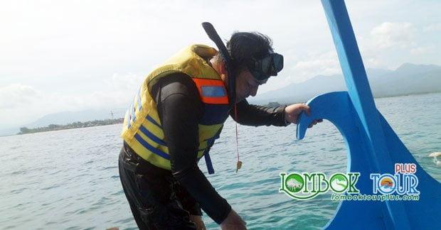 Snorkeling di gili trawangan lombok
