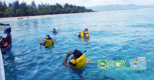 Snorkeling di wisata Gili Trawangan Lombok