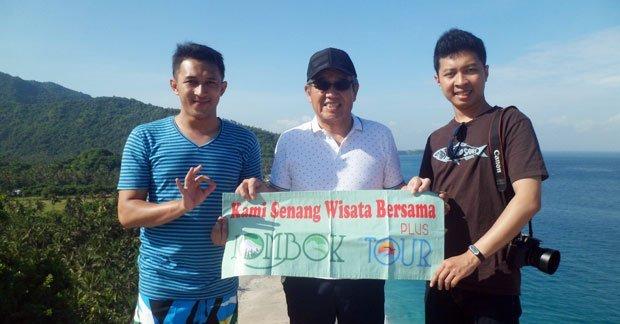 Wisata Bapak Andy dan sahabat di Lombok