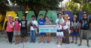 Wisata Ibu Lia dan keluarga di Gili Trawangan Lombok