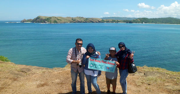 Wisata Ibu Rahma & Keluarga di Lombok