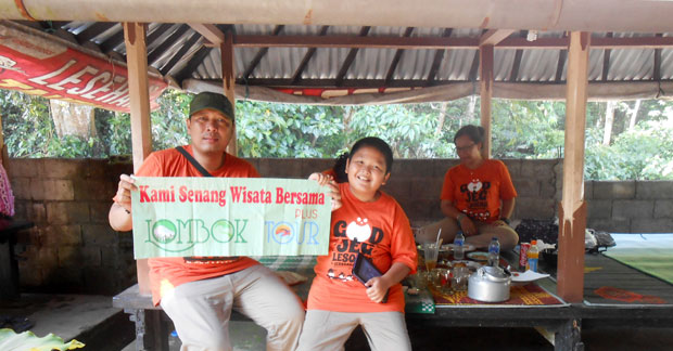 Wisata Lombok Kelurga Ibu Menik