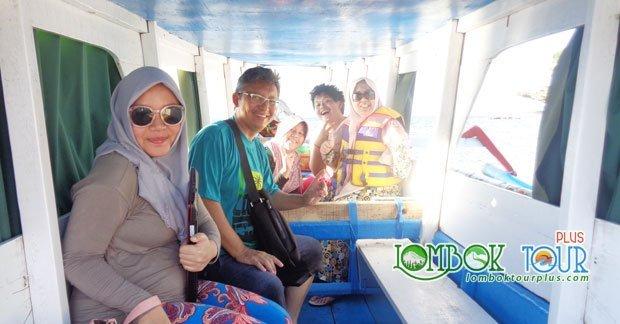 Perjalanan wisata Bapak Utama dan Keluarga ke Gili Trawangan Lombok