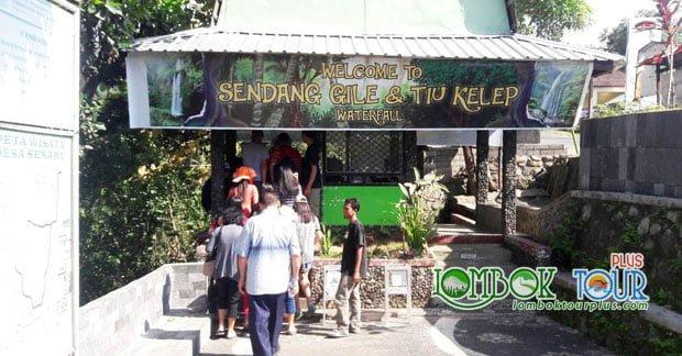 wisata air terjun di lombok