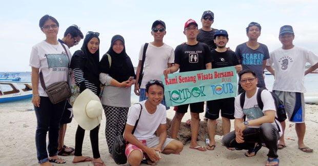 Wisata Bapak Arien Ginanjar di Lombok