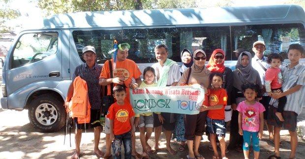 Wisata Bapak Oni Chandra Dan Keluarga di Lombok