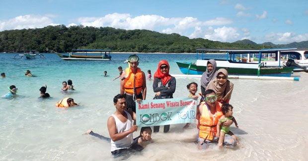 wisata menyenangkan di gili Nanggu Lombok