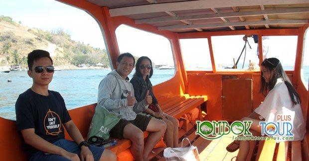 Menikmati perjalanan ke wisata gili trawangan lombok