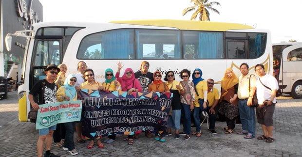 Wisata Ibu Nita dan Sahabat di Lombok