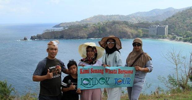 Wisata keluarga di bukit malimbu Lombok