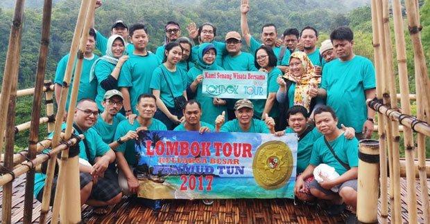 Wisata Bapak Hadi & Grup di Lombok