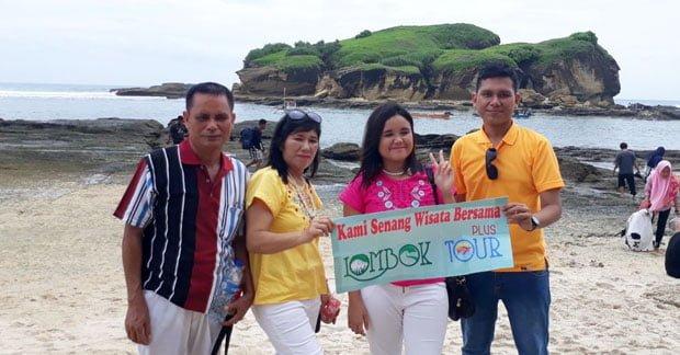 Wisata Ibu Nila dan Keluarga di Lombok