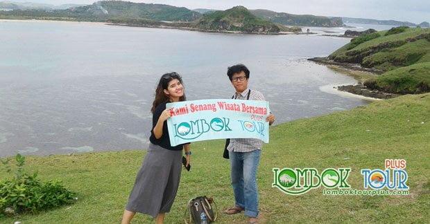Wisata Bapak Fery di Bukit Merese Lombok