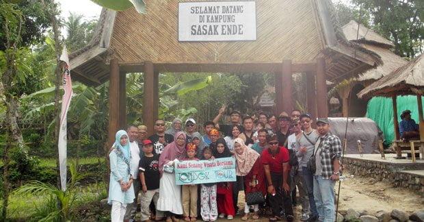 Wisata Bapak Heri di Desa Ende Lombok Bersama Sahabat