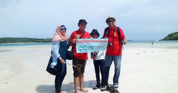 Wisata Bapak Irwan di Lombok