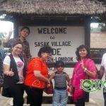 Testimonial Wisata Bapak Taufik dan Keluarga di Lombok